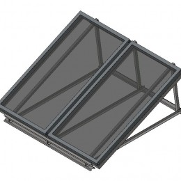 Hot Water-Solar Collector-Rheem-2 on Variable Pitch Frame.jpg