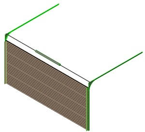 Download CAD Files For Enviropanel Insulated Steel Sectional Door U2013 Ribbed  Panel