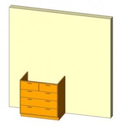Base Cabinet-5 Drawers-Wall.jpg