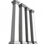 Download CAD files for Uni-Shape Tapered Square Column