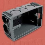 Download CAD files for Mounting Wall Box 157-1PRM