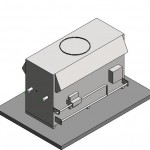 Download CAD files for Raypak Indoor B4224ID