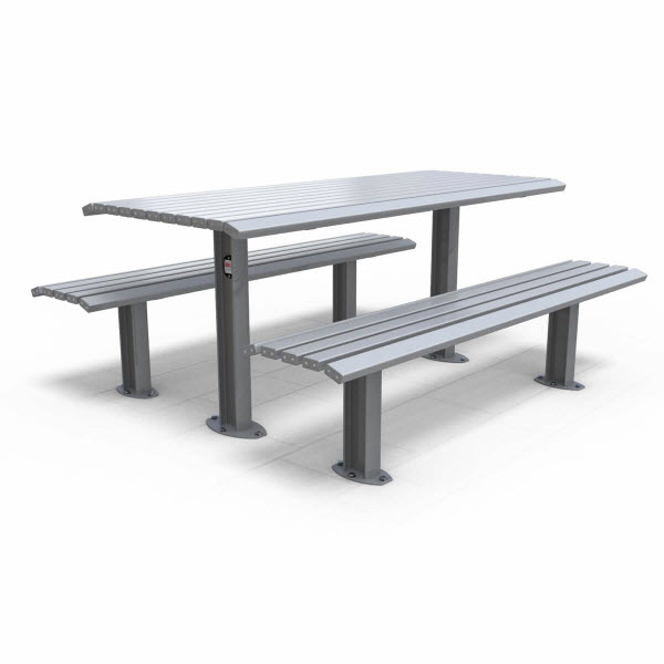 Outdoor table setting unisite citistyle design content for Outdoor furniture revit
