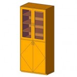 Download CAD files for Tall Cabinet-Instrument Unit