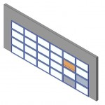 Download CAD files for Design-A-Door 1825-2440 (6125 to 6600)