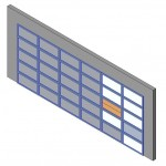 Download CAD files for Design-A-Door 2445-3050 (6125 to 6600)