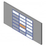 Download CAD files for Design-A-Door 3055-3420 (3800 to 4705)
