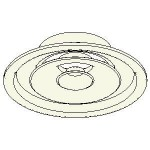 Download CAD files for DC Holyoake MEQ Ceiling Round Adjustable Diffuser