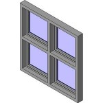 Download CAD files for Crestlite Awning Overlap Two Lite+Lowlite