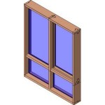 Download CAD files for MERANTI Awning Window 2+LowliteDG