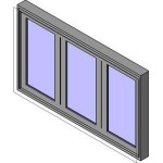 Download CAD files for MERANTI Bi-Fold Window 3-2L1R