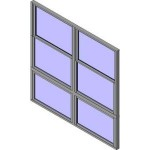 Download CAD files for QLD Wide Style Double Hung Double Lowlite