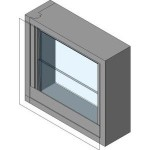 Download CAD files for Louvre Windows ATL04041