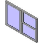 Download CAD files for Wide Style Double Hung Double Lite