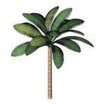 Download CAD files for Palm tree