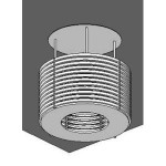 Download CAD files for Cage light
