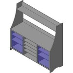 Download CAD files for High Storage Unit