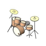 Download CAD files for Drum Kit