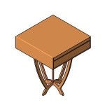 Download CAD files for FUR-Bedside Table_00