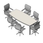 Download CAD files for FURN -_Boardroom_Table_-_6