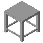 Download CAD files for FURN -_Outdoor_Chair_-_01