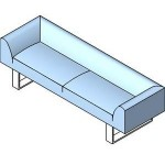 Download CAD files for Couch