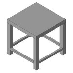 Download CAD files for Outdoor Chair_-_Tokyo_Range
