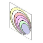 Download CAD files for Stain glass_round