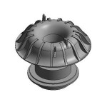 Download CAD files for Roof Outlet-Overflow Adaptor Pluvia