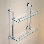 Download CAD files for Caroma Cosmo Metal Double Glass Shelf