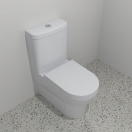 WC-Wall Faced-Stylus Banksia Close Coupled Suite