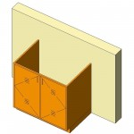 Download CAD files for Base Cabinet-Acid Storage Unit-Wall