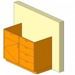 Download CAD files for Base Cabinet-Combo02-Wall