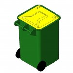 Download CAD files for Wheelie Bin