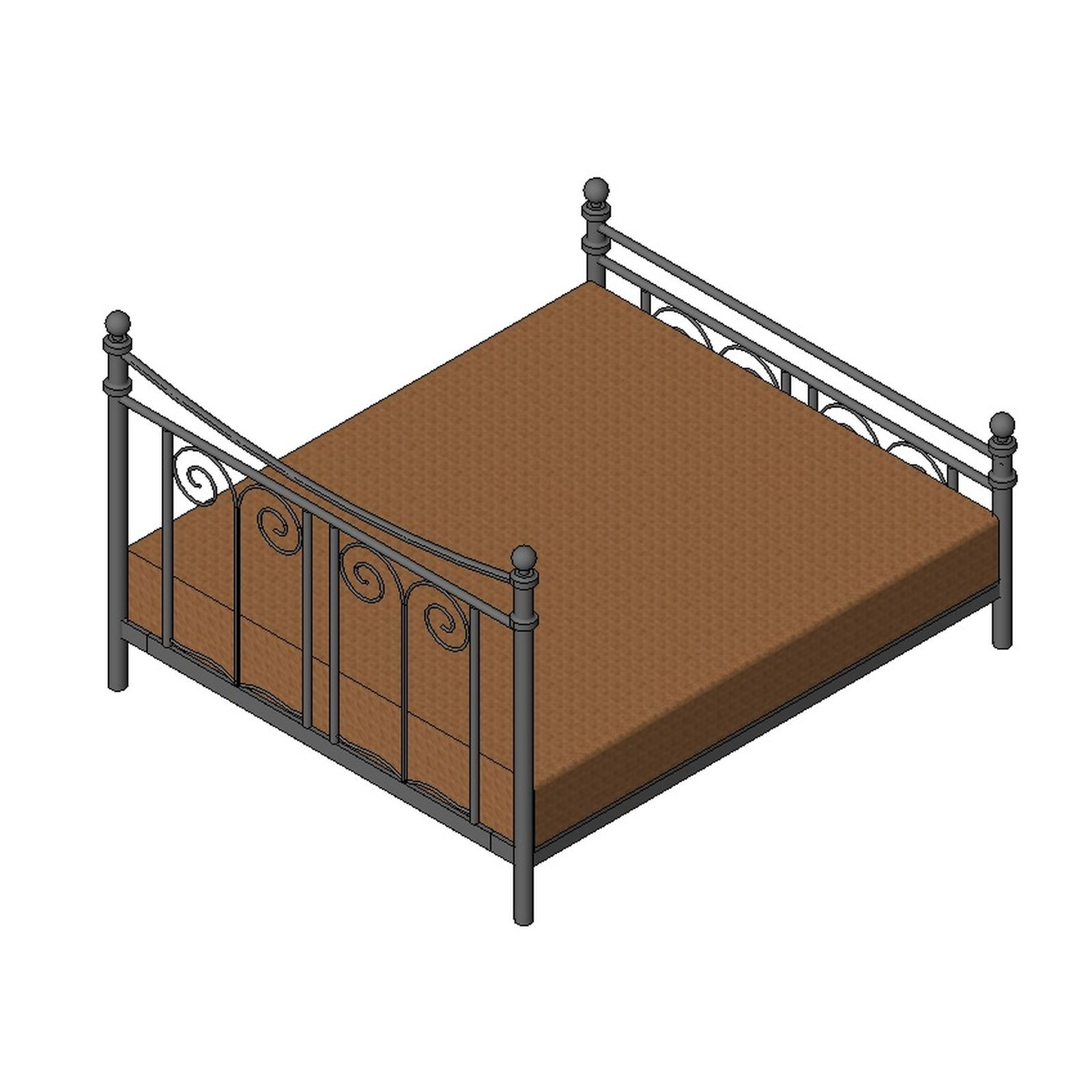 King Bed Type 3 Design Content: types of king beds