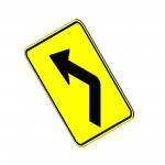 Download CAD files for Left Arrow Sign
