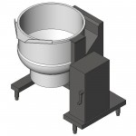 Download CAD files for Tilt Kettle 60 w Agit