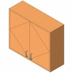 Download CAD files for Upper Cabinet-Pass-Thru