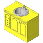 Download CAD files for Vanity  Tudor