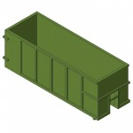Download CAD files for Waste Container