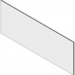 Download CAD files for HardiePlank™ Rusticated Basic Wall