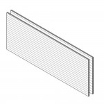 Download CAD files for HardiePlank™ Smooth Basic Wall