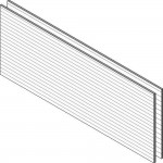 Download CAD files for HardiePlank™ Woodgrain Basic Wall