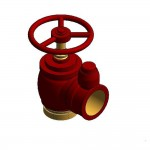 Download CAD files for Fire Valve 65BIC WA