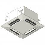 Download CAD files for Inverter Compact MF ceiling-mounted cassette type SMNX Cooling 2.5kW – 6.0kW