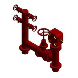Firemain Boosterhydrant Pipeset 150te Design Content