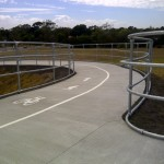 Peninsula Link Trail enjoys bridge safety for cyclists by selecting Moddex ingenuity
