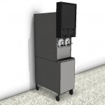 Download CAD files for Frozen Carbonated Beverage Dispenser Type 2
