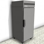 Download CAD files for Vertical Freezer – 1 Door Type 1