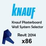 Download CAD files for Plasterboard Wall System Selector API, 2014, x86
